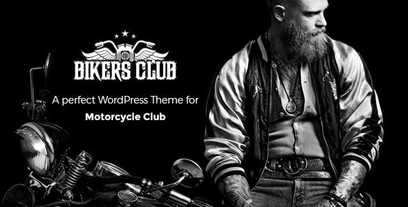 Bikersclub – Motorcycle Responsive WordPress Thème