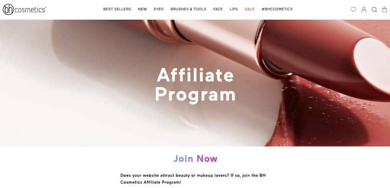 Programmes d'affiliation de maquillage