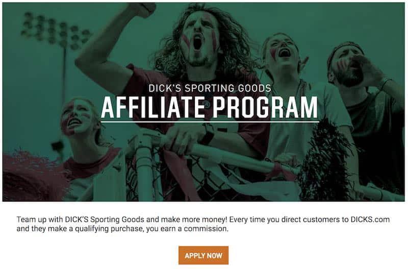 Programmes d'affiliation sportive