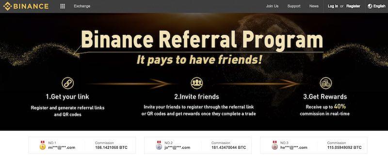 Programmes d'affiliation Bitcoin