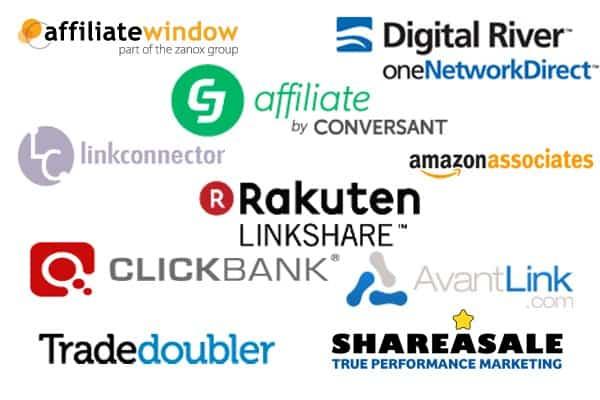 top réseau d'affiliation graphique