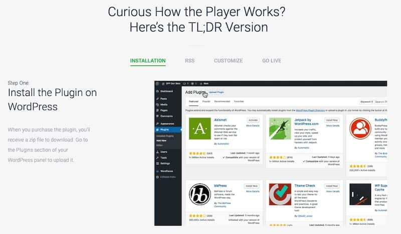 Comment fonctionne Smart Podcast Player ?