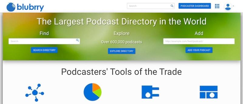 Blubrry Podcast Hébergement