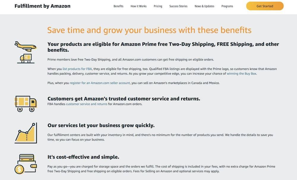 7+ Meilleures façons de vendre sur Amazon en 2020 (Seller Central, FBA)