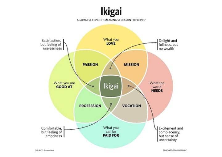 Ikigai japonais