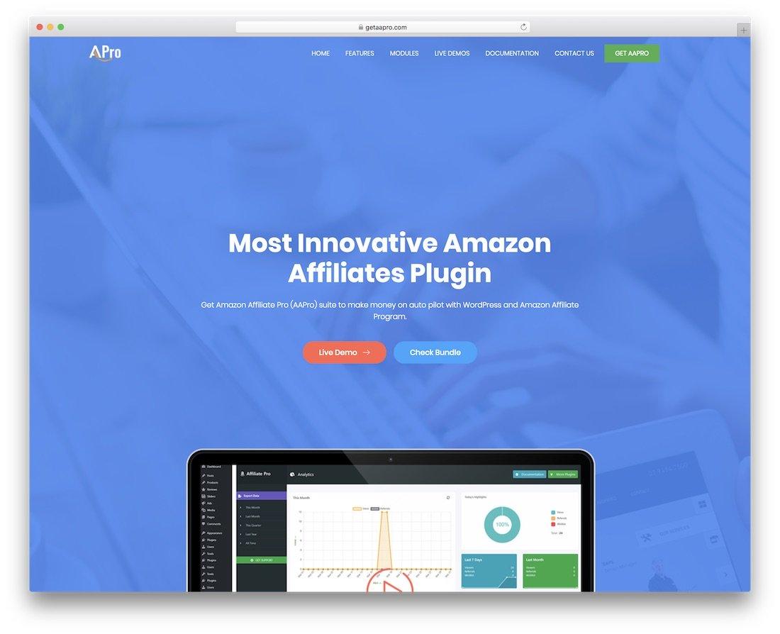 aapro amazon affilié pro wordpress plugin