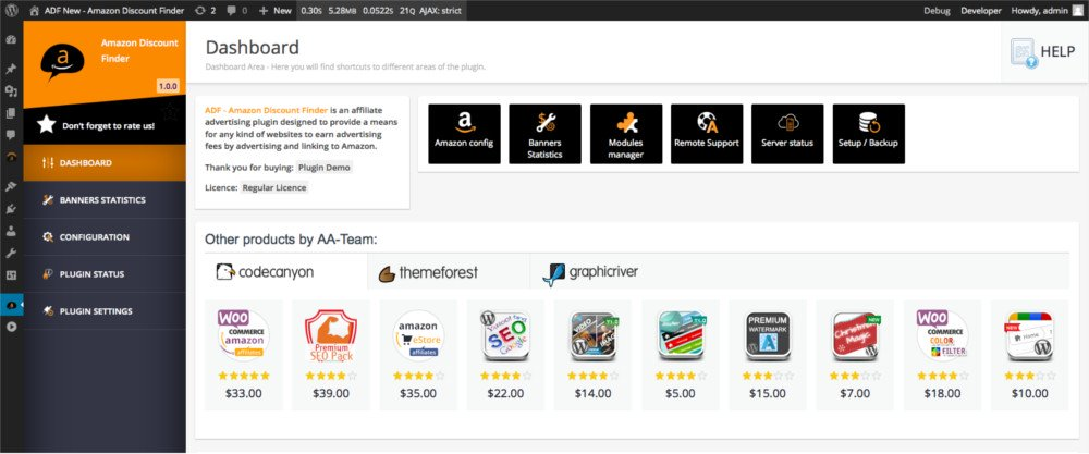 WooZone - Pack d'affiliation Amazon